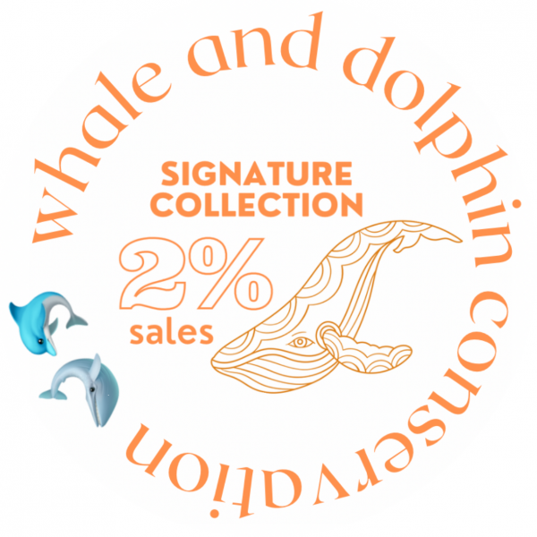 WDC Whale and Dolphin Conservation 2% logo