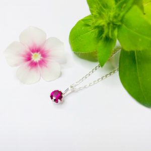 how to choose a necklace chain for a birthstone pendant